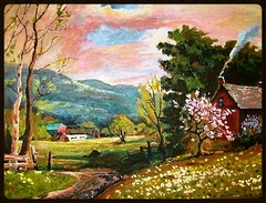 A Robert Woods Painting - Painted by STEVEN CHATEAUNEUF - Photo by STEVEN CHATEAUNEUF photo by snc145