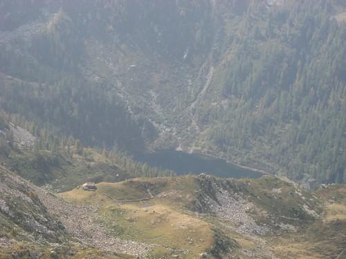 Vista dalla punta della Gragliasca
