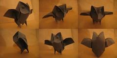 Owl - spreading wings photo by Davor Vinko Origami