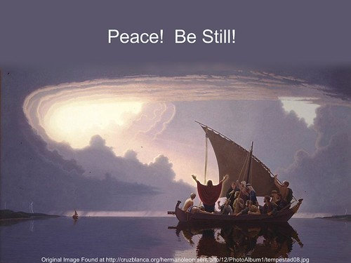 Peace-Be Still