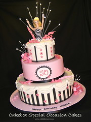 Barbie 50th Birthday photo by Cakebox Special Occasion Cakes