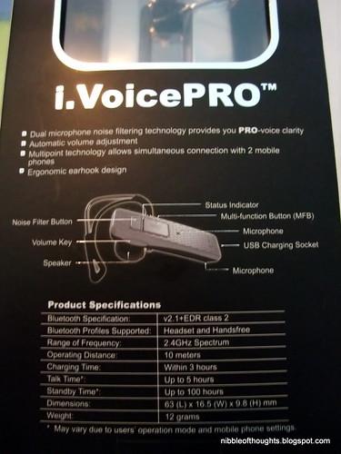 i.VoicePro details