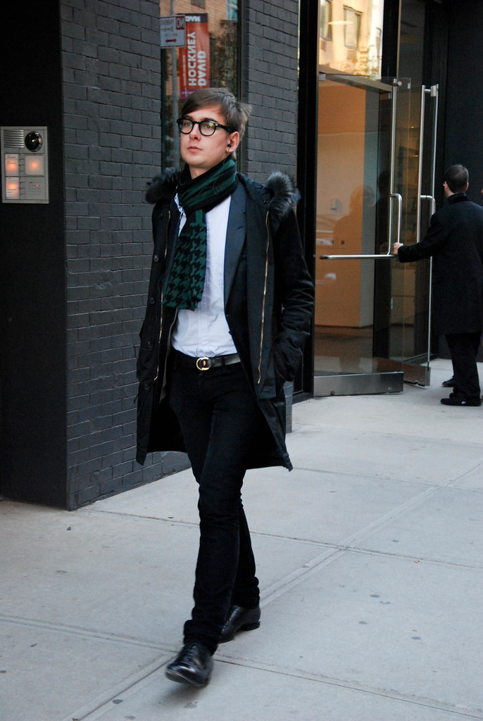 Black Frame Glasses, West Chelsea
