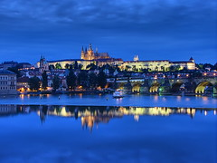 Prague Castle Blue Hour photo by Mike G. K.