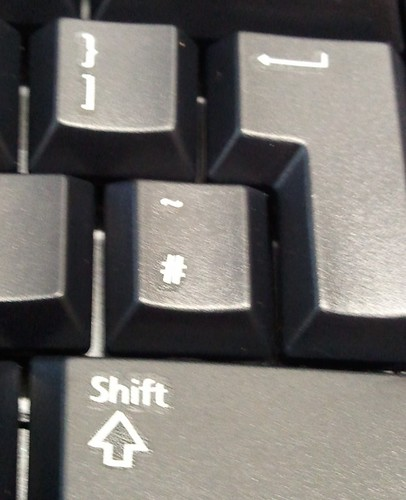 A hash key!