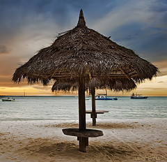 Aruba - Palm Beach Coast photo by DiGitALGoLD