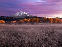 Mt. Adams Sunrise photo by Konejita