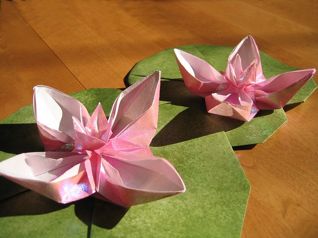 ORIGAMI LILY PAD « EMBROIDERY & ORIGAMI - photo#2