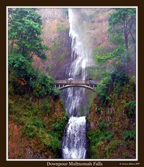 Downpour Multnomah Falls photo by lhg_11, 1 million+ views! Wow, I'm so grateful!