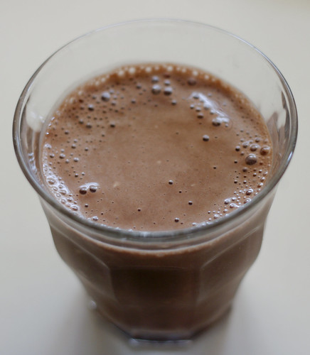 Banana Chocolate Tofu Smoothie