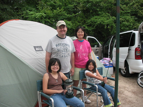 Family Camping Trip, Independence Day, 2009