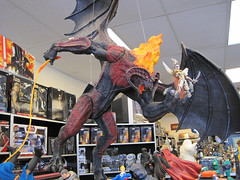 Balrog Toy Display at Wonko's