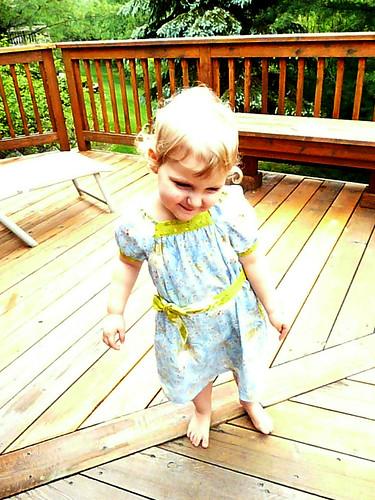 Ella's New Dress