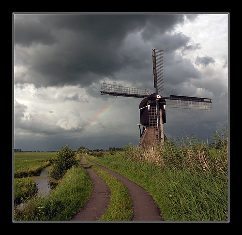 shower is coming over the Dutch mountains by 31066444@N05