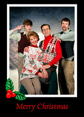 Thompson Family Christmas Card 2009 photo by Theresa Thompson