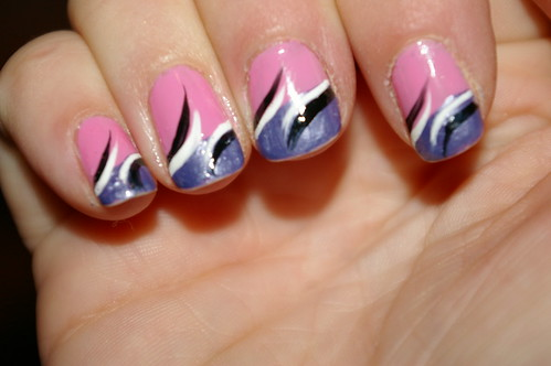 Finger Nails Designs: Simple Nail Art For Finger Nails