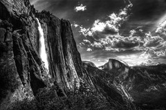 Climbing Yosemite Falls photo by Frisky Lizard