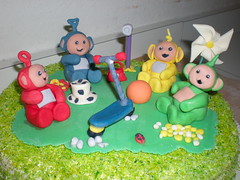 Torta Teletubbies photo by Le dolci creazioni di Michela