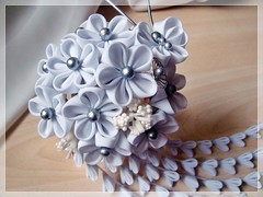 Wedding Kanzashi photo by Hatsu-chan^^