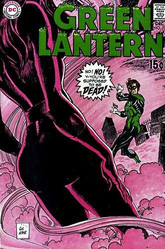 Green Lantern 73 cover by Gil Kane