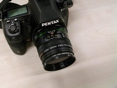 Pentax K-7 with DA35mm