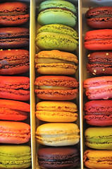 The macarons by Carette, Paris photo by jmvnoos in Paris