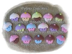 BOTÕES DE CUPCAKES EM BISCUIT PARA APLICAÇÕES DIVERSAS. photo by Andréa Barcellos - Hippo