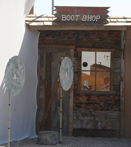 Boot Shop and two targets