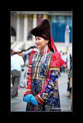 Mongolian beauty photo by Sainaa|photography