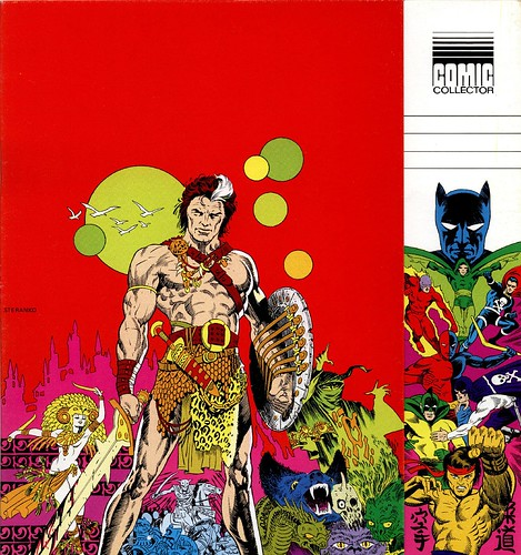 Steranko Comic Collector cover 1