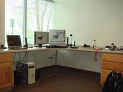 tim's desk