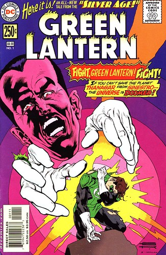 Silver Age Green Lantern cover by Gil Kane