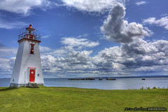 Inch Arran Lighthouse ::HDR photo by Chaos2k