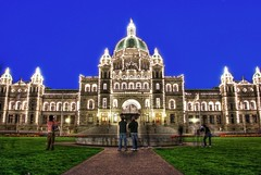 The Main Attraction: The British Columbia Legislature in Victoria B.C photo by Brandon Godfrey