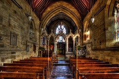 Wansford Church HDR-2