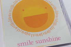 "Smile Sunshine 6"" x 6"" Print photo by shawnanonna (Nonna Illustration & Design)"