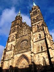 Nurenberg  Medieval Glory, Church of St. Lorenz photo by moonjazz