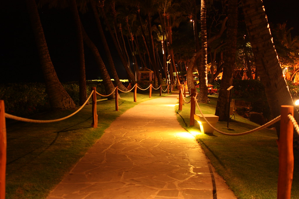 Beachwalk at Night