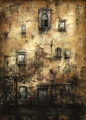 Old wall photo by Yaroslav Gerzhedovich
