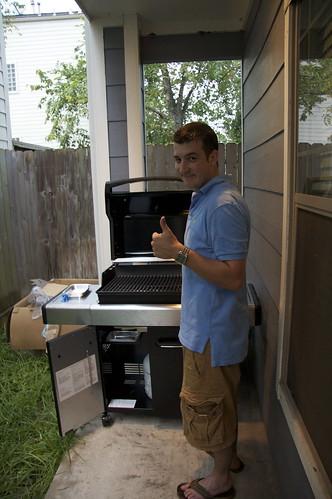 Matt's new grill!