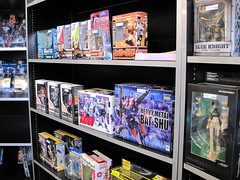 Plamos and Anime Toys at Wonkos
