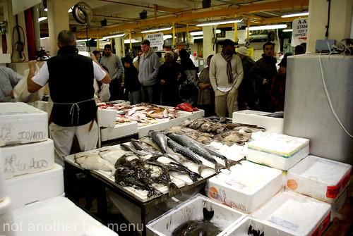Billlingsgate fish market