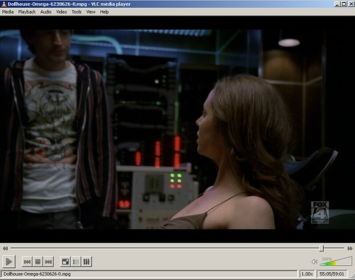 ScreenShot of VLC Playing Dollhouse