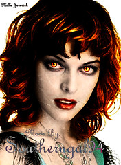 Milla Jovovich as a Vampire 2 photo by Southerngal94