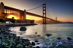 Golden Gate - Golden Light photo by Surrealize