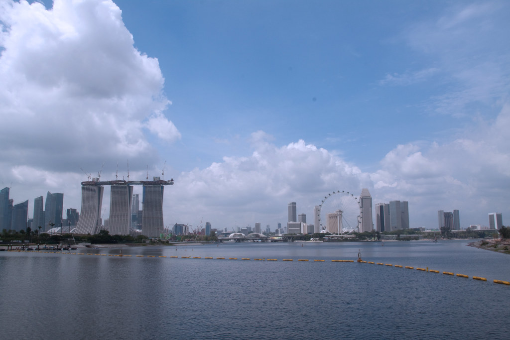 View of the Casino from the Barrage