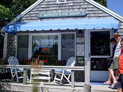 Marion's Pie Shop - Exterior