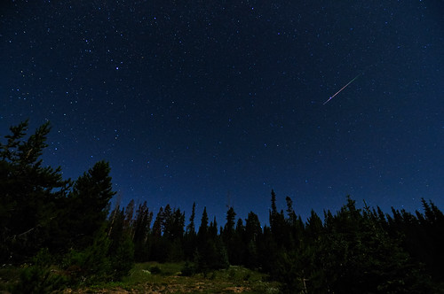 2009 Perseid Meteor Shower in the Colorado Rockies photo by Fort Photo
