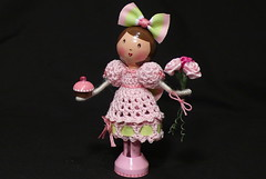 Happy Birthday to a Dear Friend - Clothespin doll photo by creatingtreasures