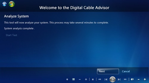 Windows 7 MC Digital Cable Advisor 10